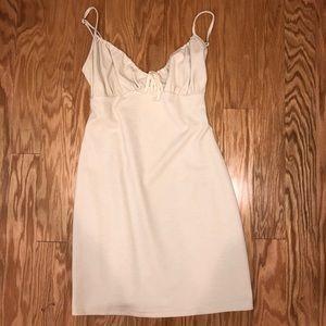 Simple nude camisole dress